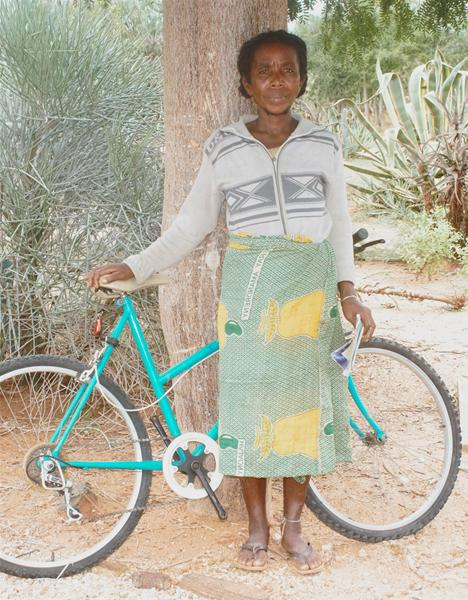 Bicycle distribution in Madagascar a success