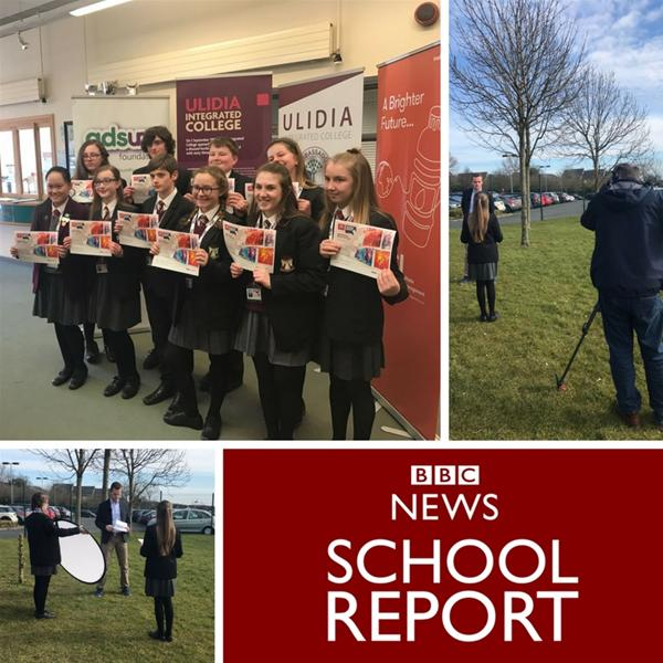 Ulidia College Interview Adsum for BBC School Report
